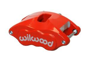 Brake Caliper Gm D52 Alum Red Powdercoated 1 1 8 2 piston Front Rear Each