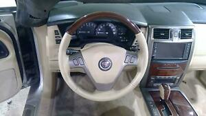 2007 Cadillac Xlr Cashmere wood Steering Wheel Assembly With Bag Oem