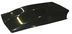 Hairy Glass 6 Cowl Induction Scoop Hand Laid Fiberglass