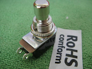 20x Spst N o Momentary Soft Touch 12mm Push Button Stomp Foot Pedal Switch 12mm