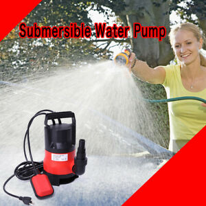 Submersible Water Pump 1 2 Hp 2000gph Clean Clear Dirty Pool Pond Flood Draining