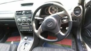 Toyota Genuine Altezza Is200 Is300 Gxe10 Z Edition Black Leather Steering Wheels