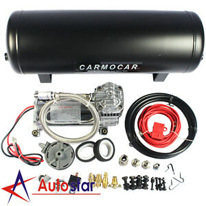 Brand New Medium Duty Onboard 12v Air System Air Compressor With 2 5 Gallon Tank