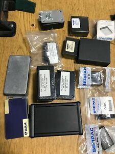 Lot Of Many Misc Electronic Project Case Box Enclosures