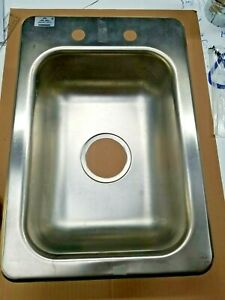 Advance Tabco Di 1 5 Stainless Steel Drop In Sink