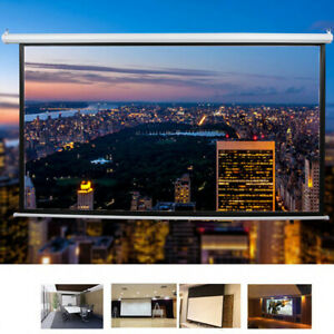 100 Inch 16 9 Hd Electric Motorized Projector Screen Projection