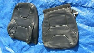 01 04 Volvo Xc70 Cross Country Charcoal Driver Left Side Leather Seat Covers