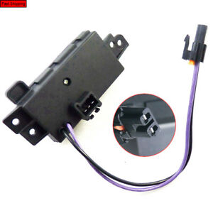 Blower Motor Resistor Heater Control Module For 2003 2006 Chevy Gmc Cadillac