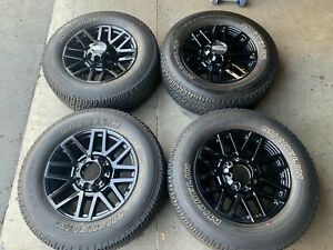 2020 Ford F250 F350 Factory 20 Wheels Tires Oem Rims Michelin At2 10104 Black