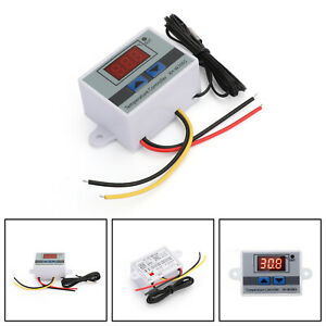 Dc 12v Digital Led Temperature Controller Thermostat Xh w3001 Switch Probe Usa