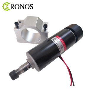 0 5kw Air Cooled Spindle Er11 Chuck Cnc 500w Spindle Motor 52mm Clamps For Diy