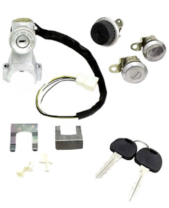Suzuki Samurai Sj410 413 Jimny Ignition Switch Steering Door Glove Box Lock Set