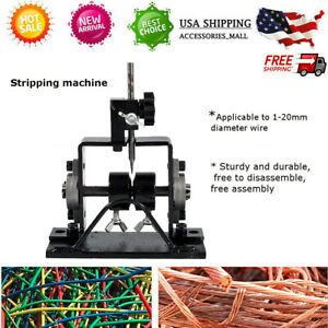 Wire Stripping Machine Cable Peeling Machine Metal Recycle 1 30mm Diameter M4y5