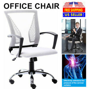 Mesh Office Chair Executive Computer Desk Swivel Adjustable Ergonomic Desk Chair