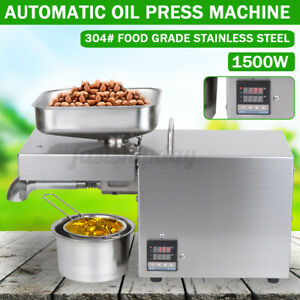 1500w Automatic Oil Press Machine Oil Extraction Extractor Expeller Y