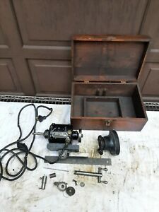 Dumore Tool Post Grinder 2 Ag Coolest One On Ebay Antique Collectable Lathe