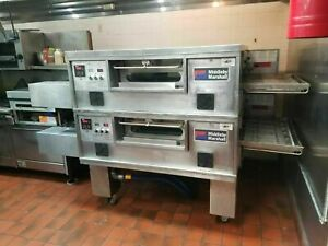 Refurbished Middleby Marshall Ps555g Doublestack Gas Ovens Free Shipping
