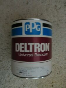 Ppg Deltron Universal Basecoat Dbu 9601 H Pearl In Black Full Quart