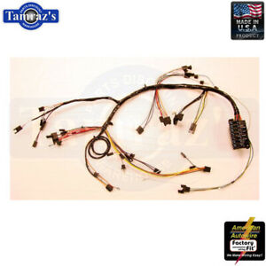 1967 Chevelle El Camino Malibu Dash Wiring Harness W Factory Gauges Usa Made