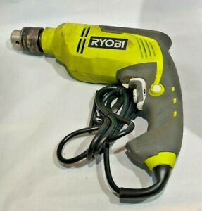 Ryobi D620h 6 2 amp Corded 5 8 Variable Speed Hammer Drill Used