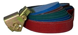 Knife Sharpening Angle Guide With 12 Grit Belts Combo Pack
