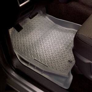 Husky Liners 33001 Classic Front Floor Mats For Ford F150 F250 And More Black