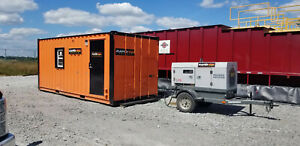 20 Mobile Office Site Trailer Mud Lab Cooling Station