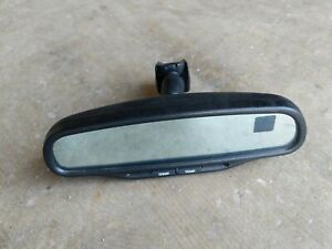 02 06 Saturn Vue Equinox Rear View Mirror Auto Dim Compass Temp Display Oem