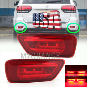 Led Rear Bumper Fog Light For Jeep Grand Cherokee Wk2 2011 2018 Compass 2011 16