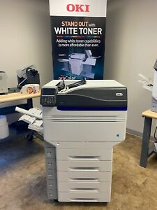 Oki C941e Envelope Printer Cmyk white Demo Unit