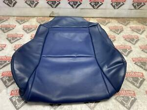 04 06 Pontiac Gto Oem Front Seat Bottom Leather Skin Blue