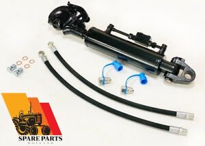 Hydraulic Top Link Cat 3 3 Stroke 210 Mm With Ball Joint Hook Heavy Duty