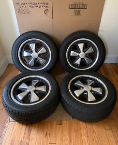 Genuine Porsche 15x6 Fuch Wheels 1972 Date Codes 911