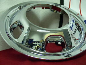 Dodge Ram 3500 17 Dually Wheel Simulator Snap On Front Hubcap Liner Blem