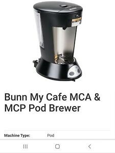 Bunn Coffee Maker Commercial New