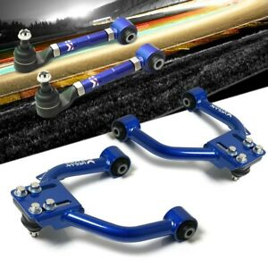 Megan Racing Front Rear Upper Camber Kit Arm For 04 08 Tsx Cl9 accord Cl7