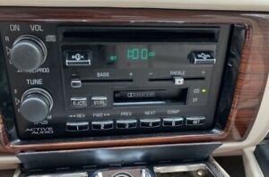 Factory Delco 92 95 Cadillac Active Audio Radio Cassette Stereo Cd 16163906