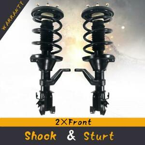 Pair Front Complete Struts Shocks Spring Assembly For 2003 2011 Honda Element