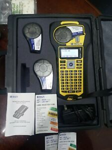 Brady Bmp21 plus Handheld Label Printer With Lithium Ion 7 4 Battery Pack