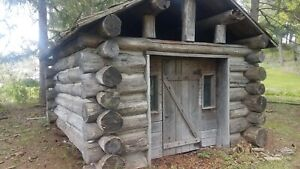 Log Cabin 15 X 20 21 Logs very Good Condition For 40 Years Old dry