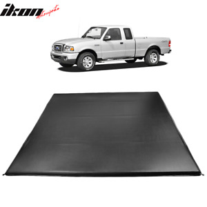 Fits 83 11 Ford Ranger Styleside 6 Ft 72 Truck Bed Quad Fold Led Tonneau Cover