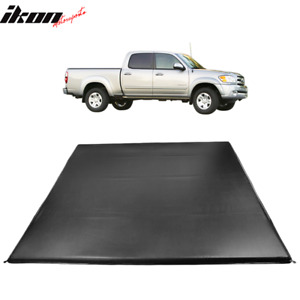 Fits 00 06 Toyota Tundra 6 5 Ft Truck Bed Quad 4 Fold Led Tonneau Cover