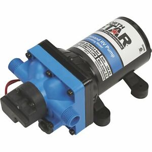 Northstar 12 Volts On demand Rv Pump 3 0 Gpm 1 2in Nps m Ports