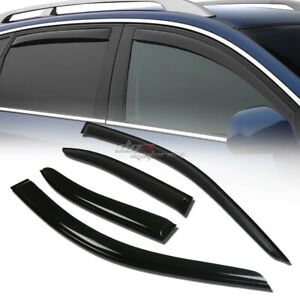 For 99 05 Vw Jetta A4 Mk4 Smoke Tint Window Visor Shade Vent Wind Rain Deflector