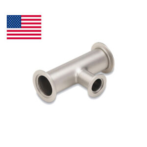 Usa Reducing Tee Kf 40 2 Side Kf 25 Middle Vacuum Fitting 304 Stainless Steel