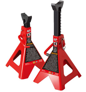 Big Red T46002a Torin Steel Jack Stands Double Locking 6 Ton 12 000 Lb 1pair