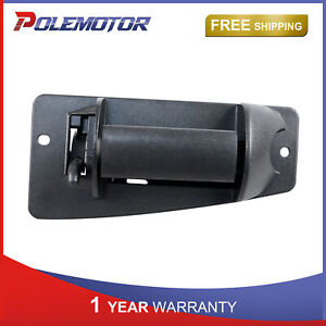 Left driver Exterior Rear Door Handle For Chevy Silverado Gmc Sierra 1500 2500