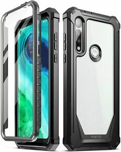 Poetic Shockproof Case For Moto G Fast Cover Anti Slip w Screen Protector $11.95