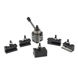 Lathe Quick Change Tool Post And Tool Holder Set For Lathe 6 12