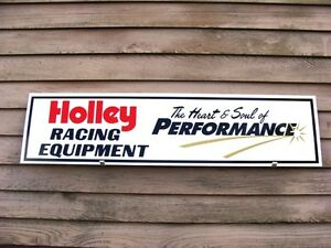 New Holley Carburetor equipment Dealer 4 Color Sign speed Parts garage Art